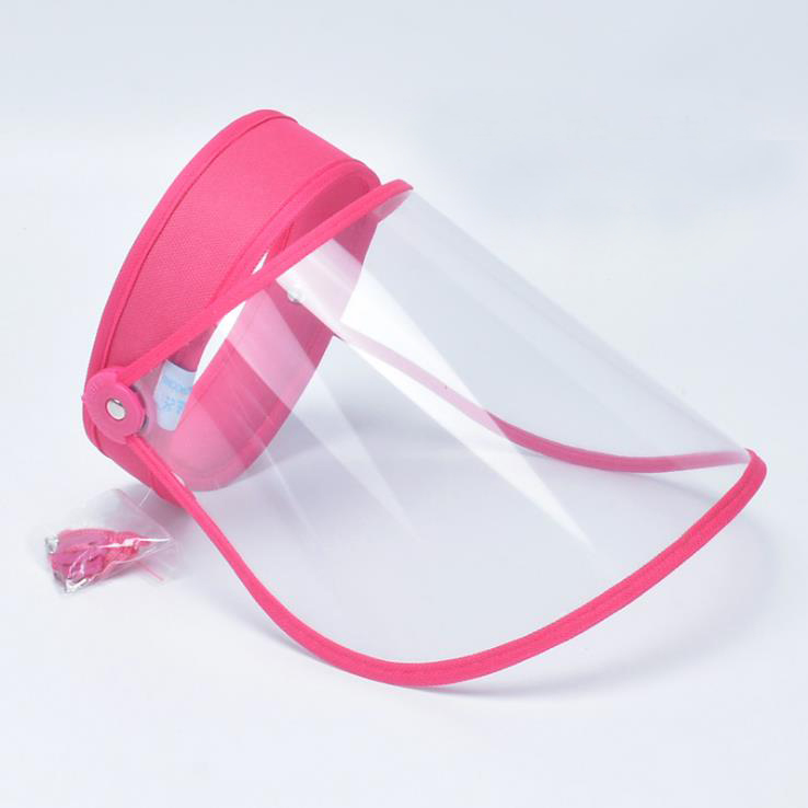 Children Protective Mask Face Shield Mask Hat Visor Cap Manufacture