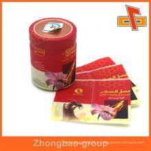 Guangzhou fabricante de embalagens calor encolhendo etiqueta de plástico maiores empresas de impressão