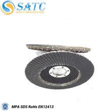 venda quente T27 e T29 de fibra de vidro de apoio disco flap