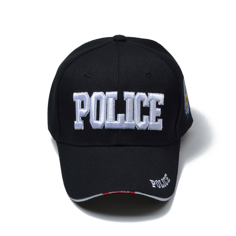 Police Baseball Embroidery