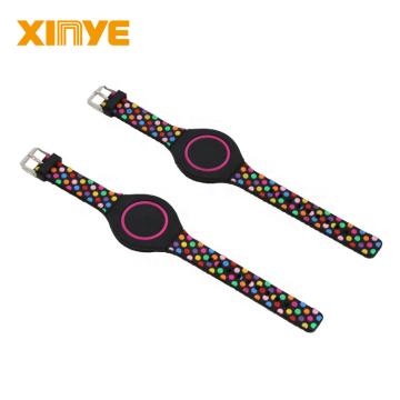 Bracelets de bracelets étanches NFC en silicone RFID intelligents