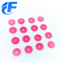Recyled round shape plastic snap button
