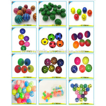 Venta caliente Varios diseño de promoción de alto caucho Bouncing Ball Toy para Kid