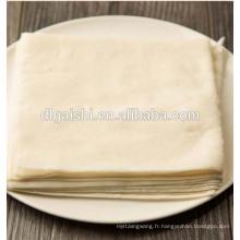 Papier de riz pour rouleau de printemps et rouleau à salade