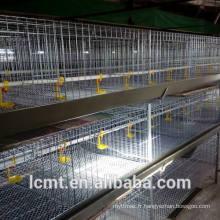 Équipement de cage de poulets à rôtir pour la volaille et les poulets de chair