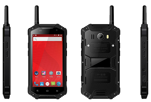 4G Rugged Smartphone -balck