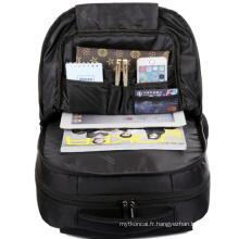 Le sac à dos noir de haute qualité 2015 (hx-q020)