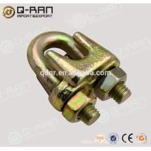 Montaje forjado de acero al carbono galvanizado tipo Clip de cuerda de alambre