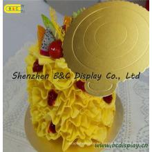 Lovely Maousse Mini tablones de pastel corrugado, tambores de pastel, platos de tarta con SGS (B & C-K064)