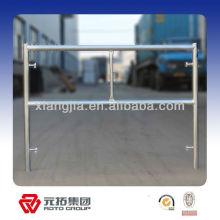 Système de cadres de coffrage en aluminium autoportant