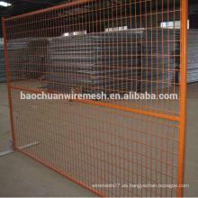Panel de Construcción Temporal con Malla Apertura de 60 x 150mm y 75 x 75mm