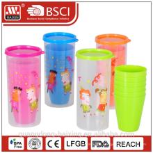 Cup set 0.75L w/4 pcs cups