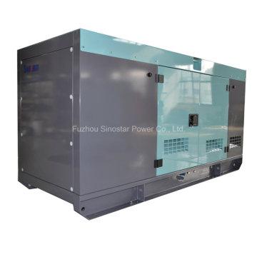 Gerador diesel silencioso de 50 kVA com CUMMINS 4BTA3.9-G2