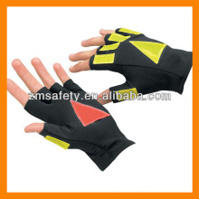 UPF50+ Lycra Sun Protective Reflective Traffic Gloves