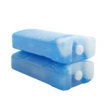 Recipiente refrigerador portátil dos blocos de gelo do gel azul
