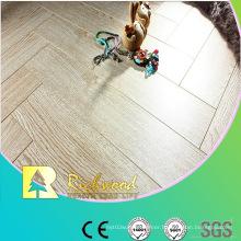Household 8.3mm AC3 Embossed Oak V-Grooved Laminate Floor