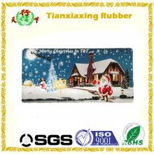 Christmas Eve Carpet Printing Rubber Door Mat