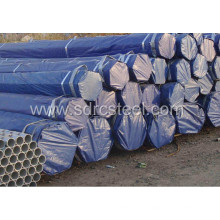 Tuyau d'acier rond pré-galvanisé de clôture