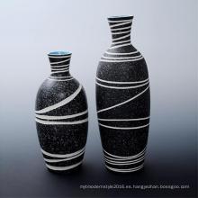 Nueva decoración del hogar del arte del florero de la porcelana del diseño para promocional (B162)