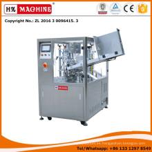 HX-009 La máquina de llenado y sellado de tubos plásticos y de tubos de plástico y aluminio