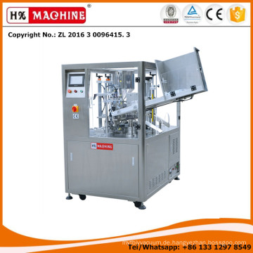 HX-009 Die Kunststoffrohre und Kunststoff-Aluminium-Laminierte Rohre Füllung und Verschließmaschine