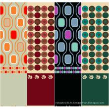 Tissu de polyester de grande qualité pour draps