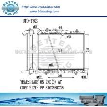 Radiator Toyota Hiace/ Radiator For TOYOTA HIACE VAN-DIESEL 2KD(D) AT