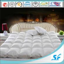 Cubierta de colchón de pato de ganso