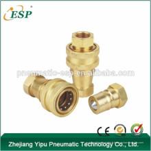 yuyao moyenne pression haute performance pneumatique et hydraulique rapide couplage (laiton)
