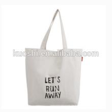 Einkaufstasche aus Recycling-Baumwolle mit Einkaufstaschen