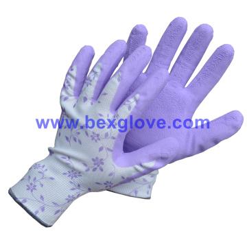 Latex Pretty Garden Glove