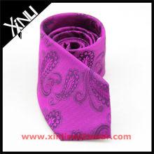 Paisley Malaysia School Purple Necktie, School Uniform Tie