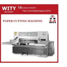 Máquina de guillotina de papel