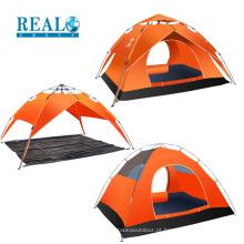Barraca de acampamento dobrável exterior impermeável da barraca grande impermeável de alta qualidade para 3-4 povos