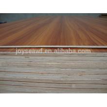 Álamo mezclado con madera dura melamina hpl madera contrachapada