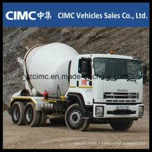 Camion Malaxeur Isuzu Qingling Vc46 6X4