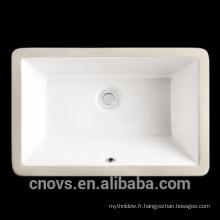 """Chine porcelaine en céramique 21 """"rectangulaire sous le bassin cupc"""