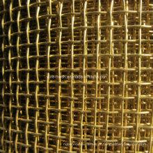 Malha de arame quadrado de cobre