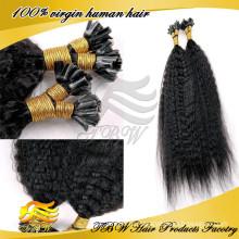 100% Виргинские Человеческих Волос Флип В Наращивание Волос