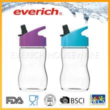 Proveedor barato de botellas de plástico con paja para niños