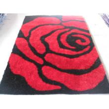 Rose Seide Teppich