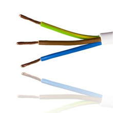 Nym-J cabo elétrico 3 * 2,5 mm2 em cor cinza