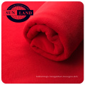 100% polyester micro anti pilling warm polar fleece two side brushed for winter clothing fabrics