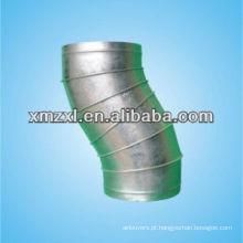 Encaixes de aço inoxidável Press 30, 45, 60,90 grau duto Bend