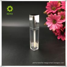 fancy rhomboid shape empty lip gloss container lip gloss private label custom lip gloss containers