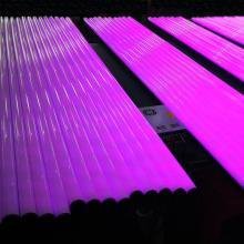 Luz colorida programável do tubo da tubulação do diodo emissor de luz de DMX512 RGBW