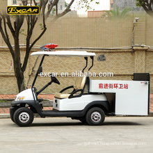 Customize 2 Seats electric Garbage Truck Electric Utility Cart For Sale