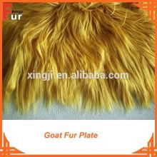Placa de piel de cabra teñida de calidad superior