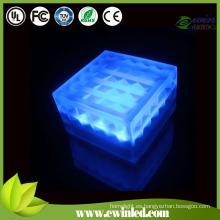 (15 * 15 cm) LED luces de pared de ladrillo con vidrio templado / resina epoxi / mármol / piedra