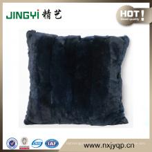Wholesale Rex Rabbit Fur Cushion